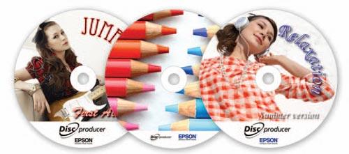 EPSON DiscProducer PP-50 Discs